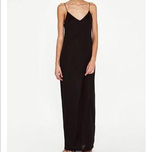 Zara maxi strappy dress